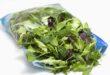 Verdure lavorate e pronte all'uso in crescita