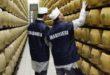 Carabinieri NAS Parma: sequestrate 5235 forme di parmigiano reggiano