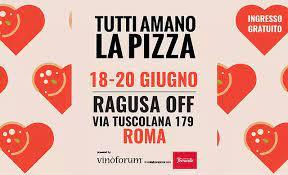 LA CITTA' DELLA PIZZA: ROMA 18-20 GIUGNO