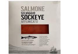 Salmone Selvaggio Sockeye affumicato
